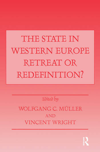 The State in Western Europe Retreat or Redefinition? book cover