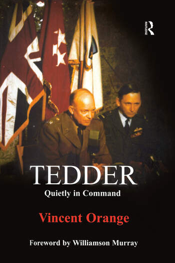 Tedder Quietly in Command book cover