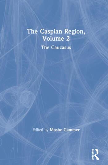 The Caspian Region, Volume 2 The Caucasus book cover