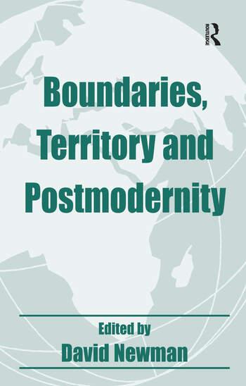Boundaries, Territory and Postmodernity book cover