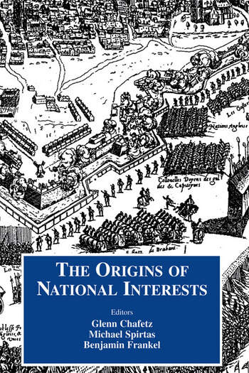 Origins of National Interests book cover