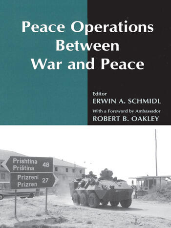 Peace Operations Between War and Peace book cover