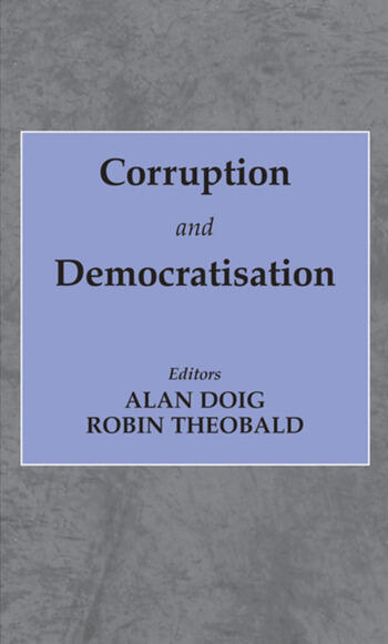 Corruption and Democratisation book cover