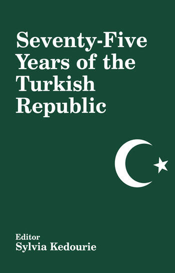 Seventy-five Years of the Turkish Republic book cover