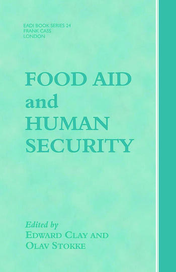 Food Aid and Human Security book cover