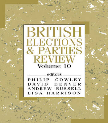 British Elections & Parties Review book cover