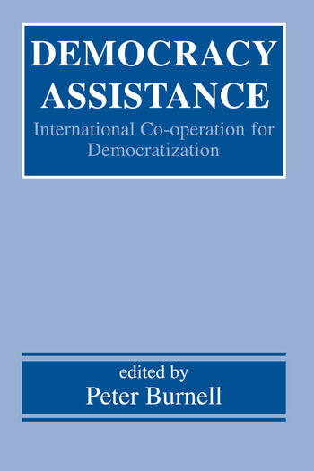 Democracy Assistance International Co-operation for Democratization book cover