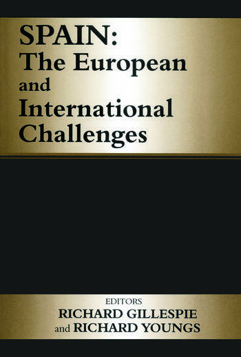 Spain The European and International Challenges book cover