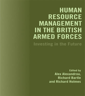 Human Resource Management in the British Armed Forces Investing in the Future book cover