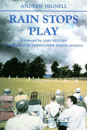 Rain Stops Play Cricketing Climates book cover