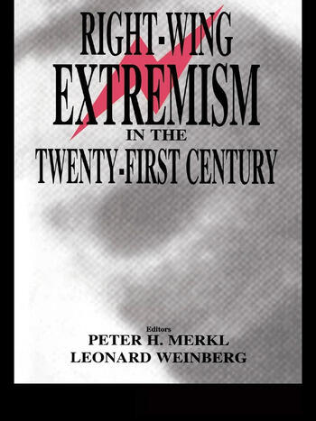 Right-wing Extremism in the Twenty-first Century book cover