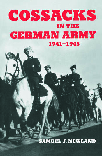 Cossacks in the German Army 1941-1945 book cover