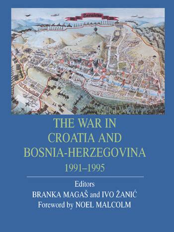 War In Croatia And Bosnia-Herz book cover