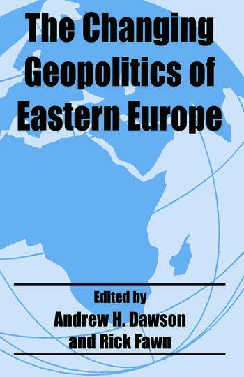 The Changing Geopolitics of Eastern Europe book cover