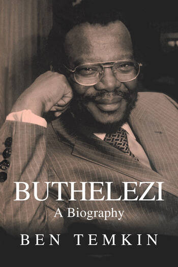 Buthelezi A Biography book cover