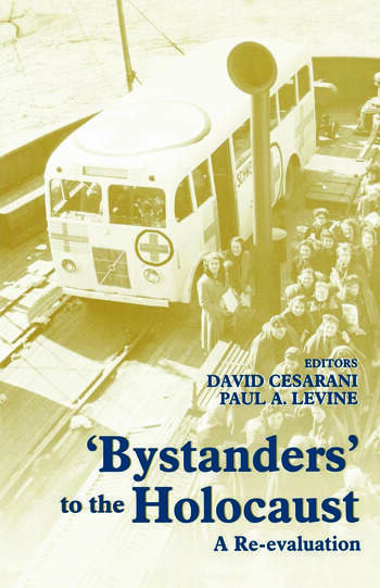 Bystanders to the Holocaust A Re-evaluation book cover