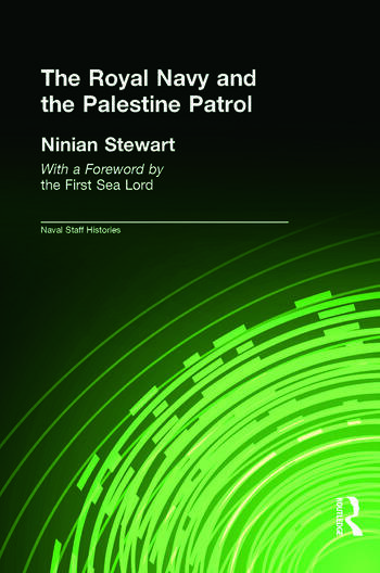 The Royal Navy and the Palestine Patrol book cover
