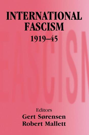 International Fascism, 1919-45 book cover