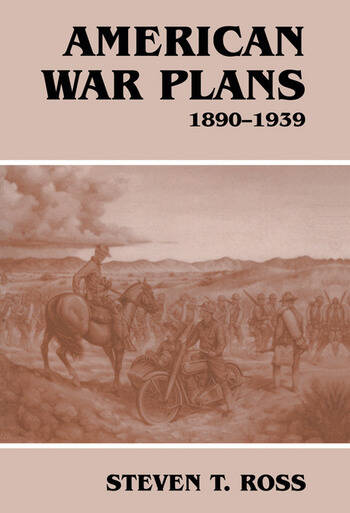 American War Plans, 1890-1939 book cover