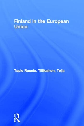 Finland in the European Union book cover