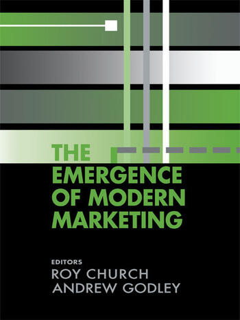 The Emergence of Modern Marketing book cover