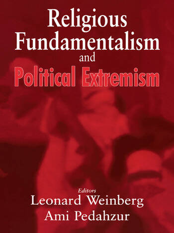 Religious Fundamentalism and Political Extremism book cover