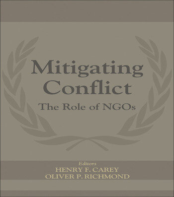 Mitigating Conflict The Role of NGOs book cover