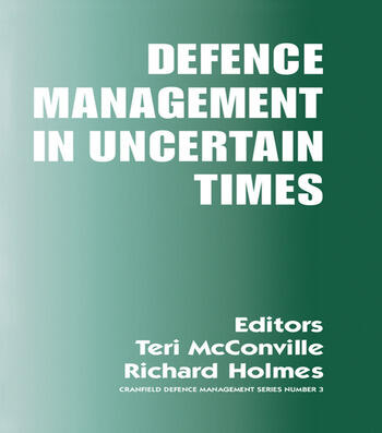 Defence Management in Uncertain Times book cover