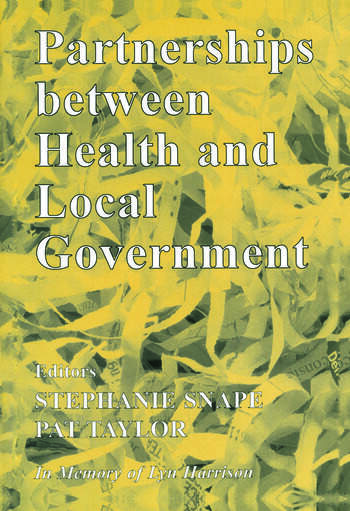 Partnerships Between Health and Local Government book cover