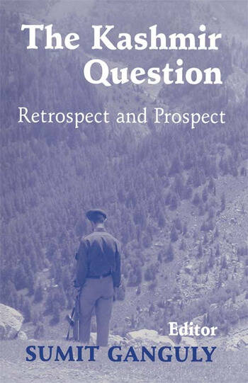 The Kashmir Question Retrospect and Prospect book cover