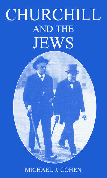 Churchill and the Jews, 1900-1948 book cover