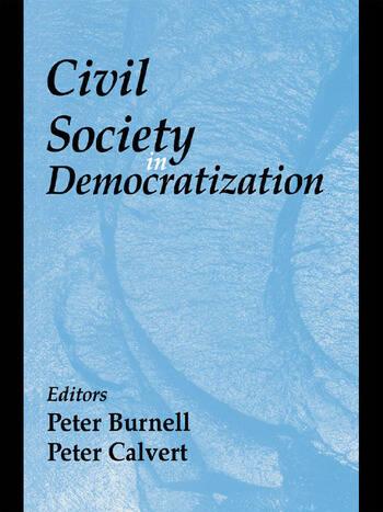 Civil Society in Democratization book cover