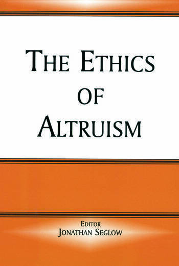 The Ethics of Altruism book cover