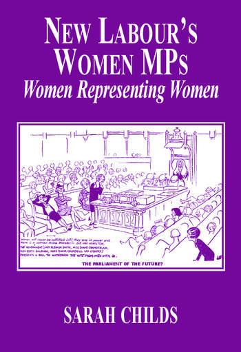 New Labour's Women MPs Women Representing Women book cover