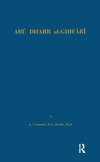 Abu Dharr Al-Ghifari book cover
