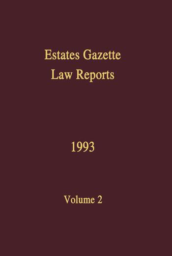 EGLR 1993 book cover