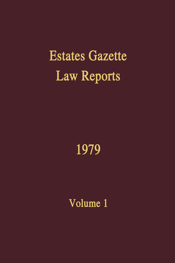 EGLR 1979 book cover