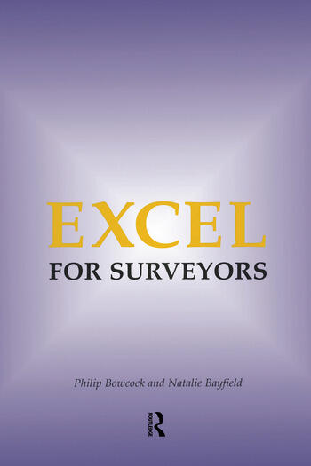 Excel for Surveyors book cover