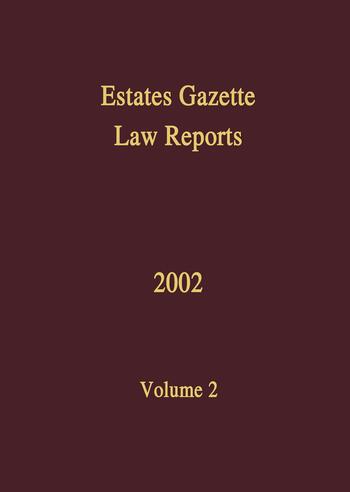 EGLR 2002 book cover