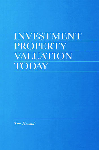 Investment Property Valuation Today book cover