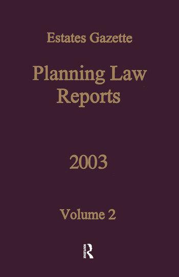 PLR 2003 book cover