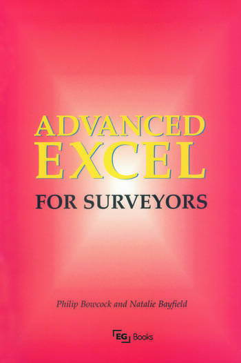 Advanced Excel for Surveyors book cover