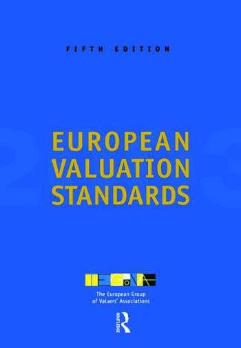 European Valuation Standards 2003 book cover
