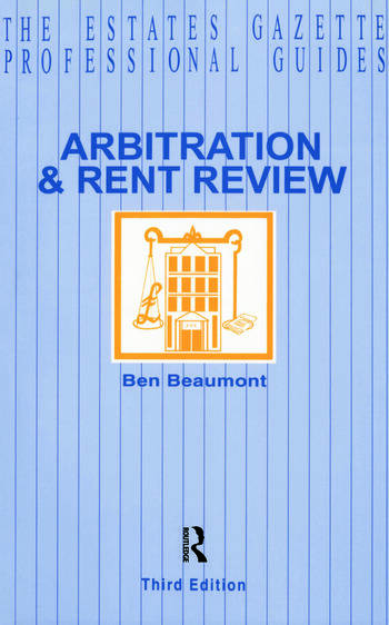 Arbitration and Rent Review book cover