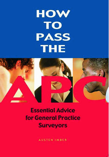 How to pass the APC book cover