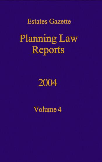 PLR 2004 book cover