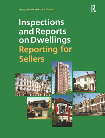 Inspections and Reports on Dwellings Reporting for Sellers book cover