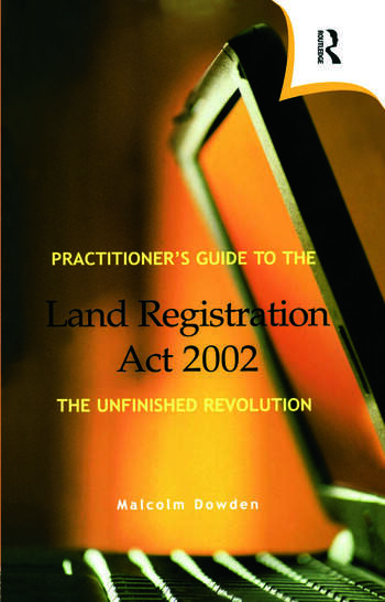 Practitioner's Guide to the Land Registration Act 2002 book cover