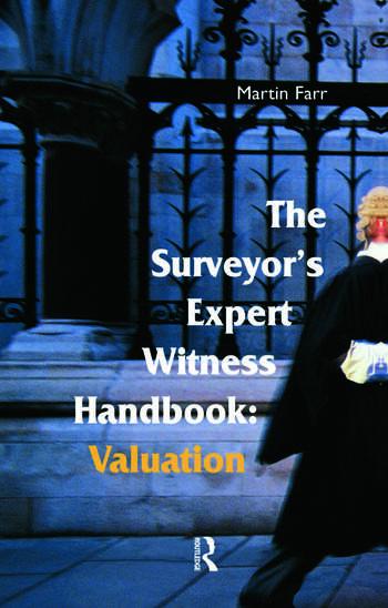 The Surveyors' Expert Witness Handbook book cover
