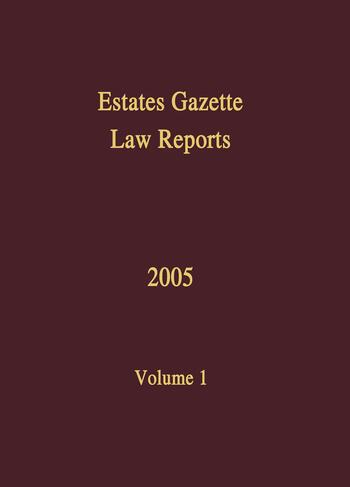 EGLR 2005 book cover